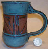 South West design ------Turquoise glaze