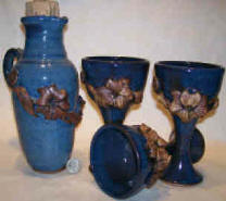 Mornig Glory Design-----Blue Glaze