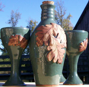 Original hand thrown pottery USA