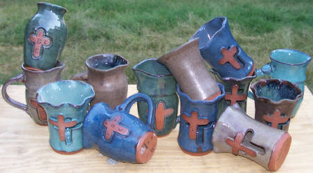 Hand designed pottery made in the USA